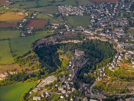 France, Aveyron, Bozouls